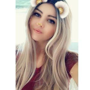 Accessories - Long ombré blond hair wig